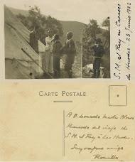 Alfonso XIII en CASARES DE LAS HURDES