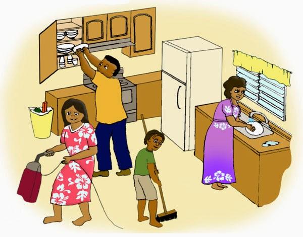 Kosas de casa compartir las tareas del hogar - Cosas de hogar ...