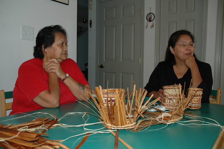 Cedar and weaving