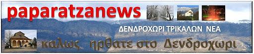 ΠΑΠΑΡΑΤΖΑ    NEWS    (δενδροχωρι Τρικαλων νεα)