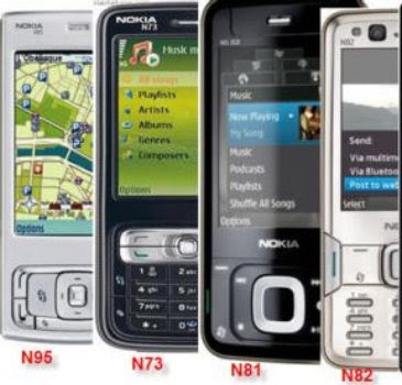 Nokia mobile phones are the