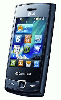 LG P520 Dual SIM Touchscreen Phone Price