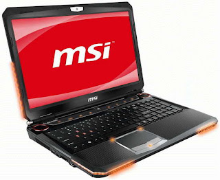 MSI GT680 super powerful Gaming Notebook photo gallery