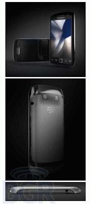 BlackBerry Storm 3 smartphone images