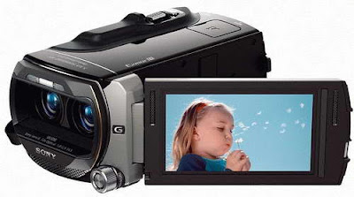 Sony HDR-TD10 3D Full HD Camcoder images