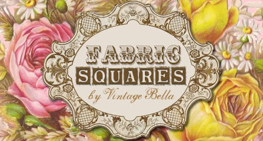 Fabric Squares by Vintage Bella
