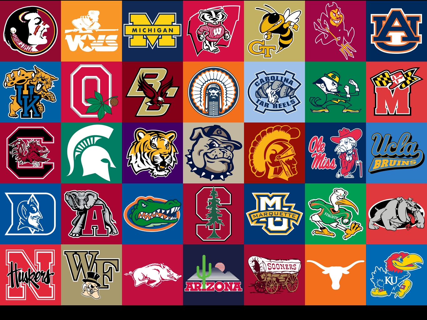 college footnall ncaa football teams