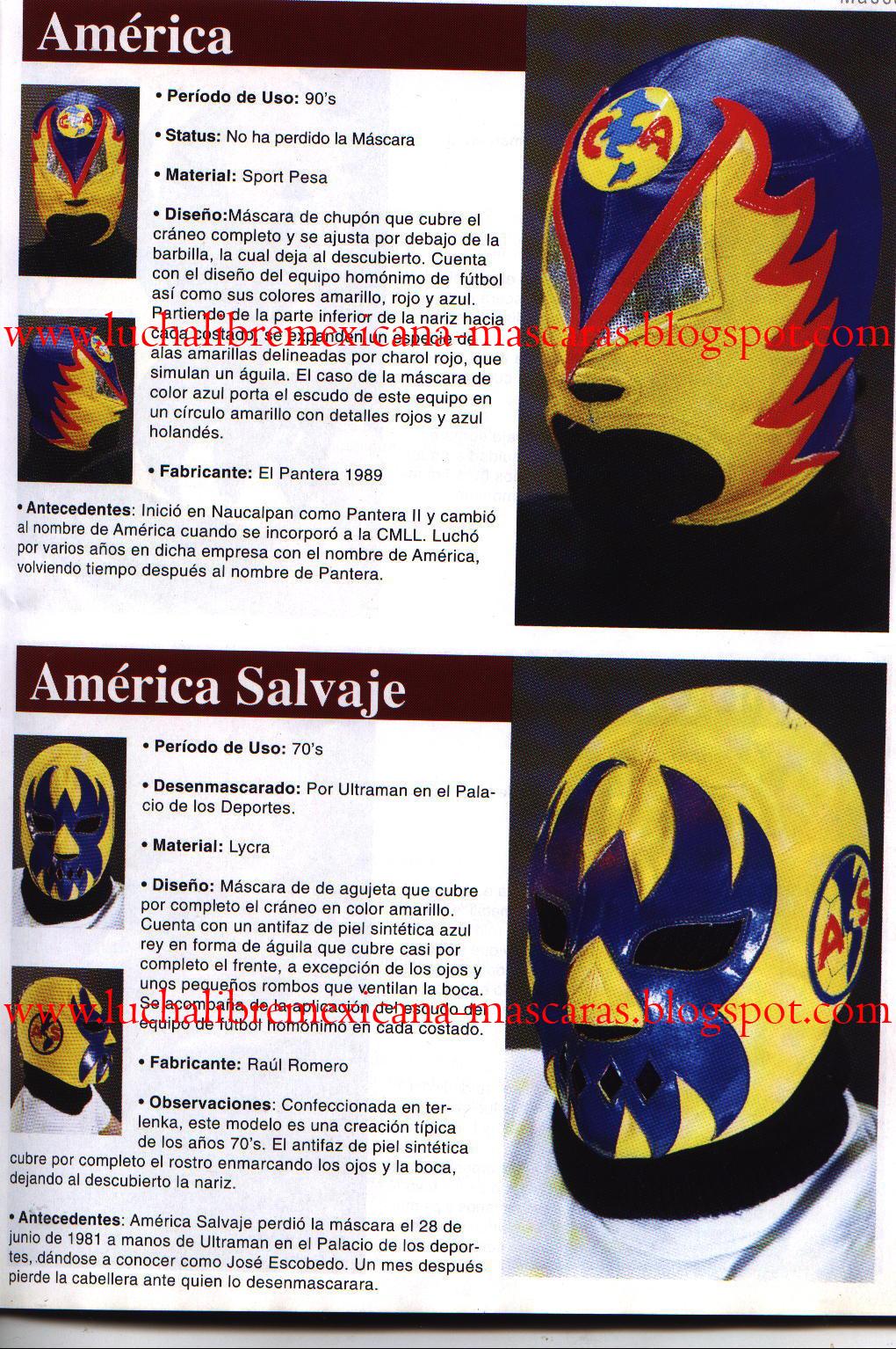 Lucha Libre Mexicana Enciclopedia De Mascaras Tomo I