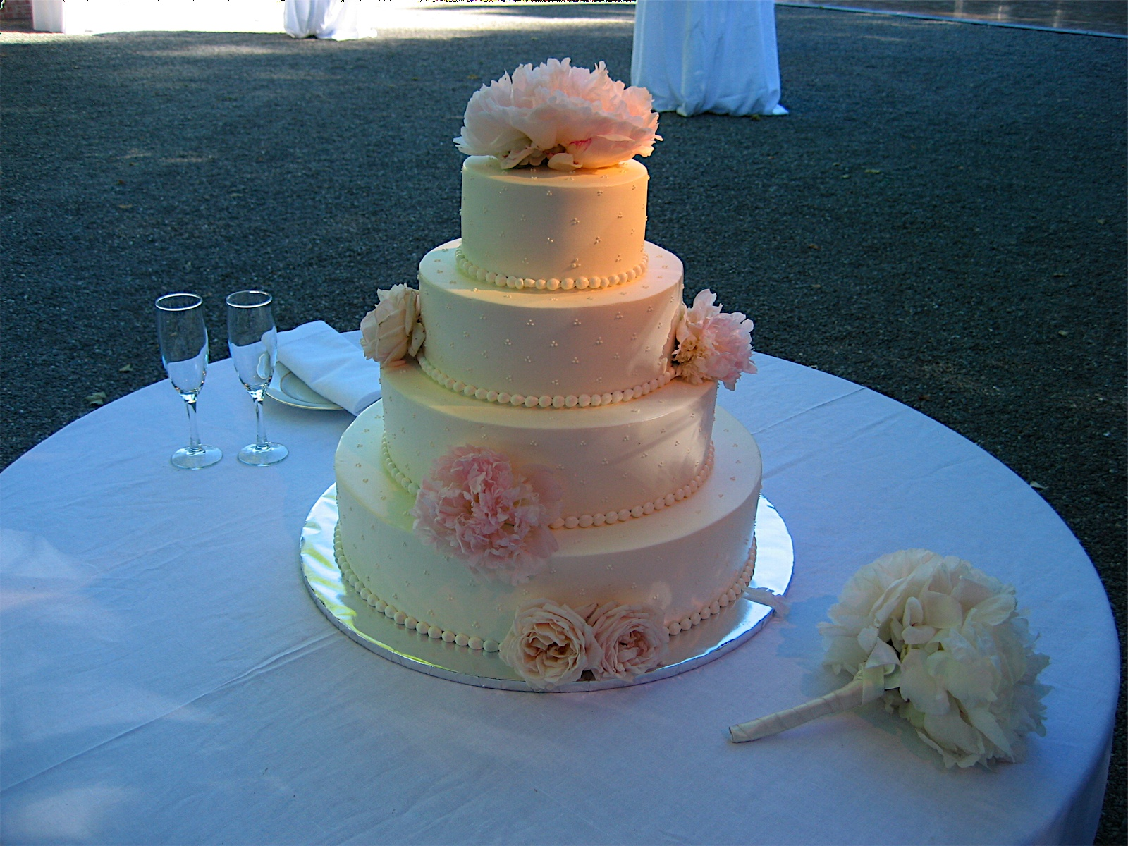 Swiss wedding cakes new orleans