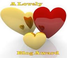 A Lovely Blog Award από τη φίλη Χριστίνα