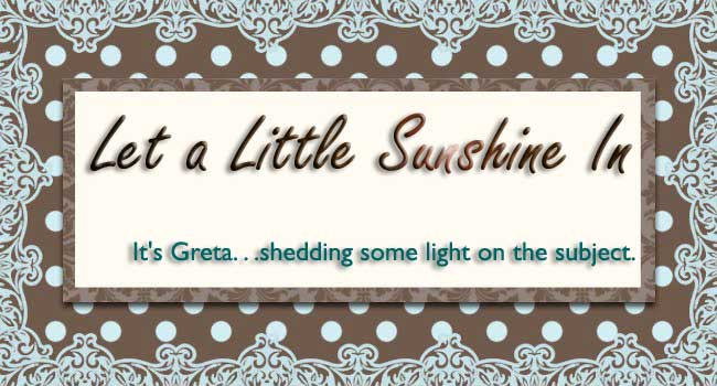 Let A Little Sunshine In