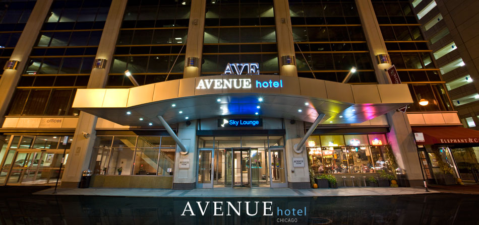 Avenue hotel chicago for Funky hotels chicago