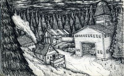Ben Belknap Drawing
