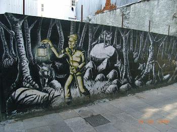 Graffitis chulos en Galicia.