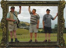 Hans, Warren and Garry framed