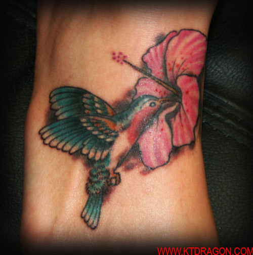 of the bird and use the best ones as a tattoo. Stylized hummingbirds