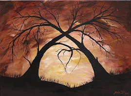 """The Journey"" Abstrack Tree Art Painting"