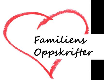 Familiens Oppskrifter