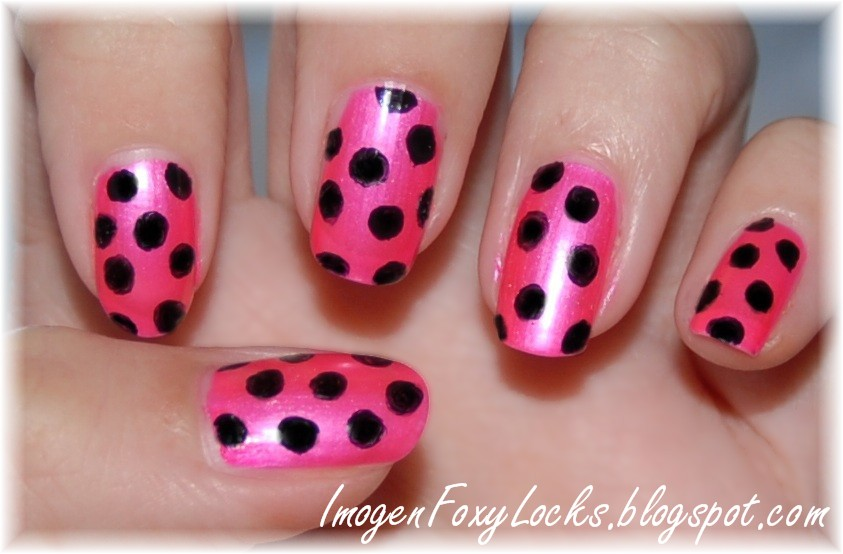 The Fascinating Easy and simplr pink nail designs for short nails Image