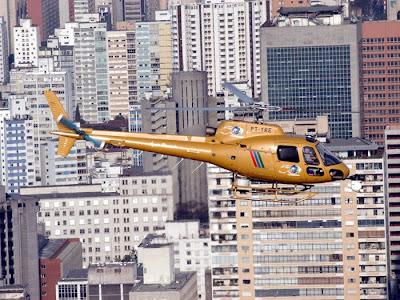 Helicoptero Esquilo da Rede Record Esquilo da Rede Record de
