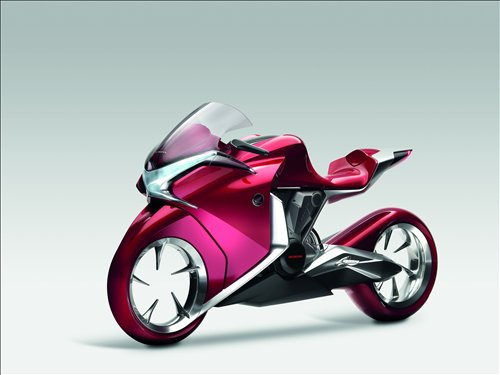 Honda V4 Concept Bike Car