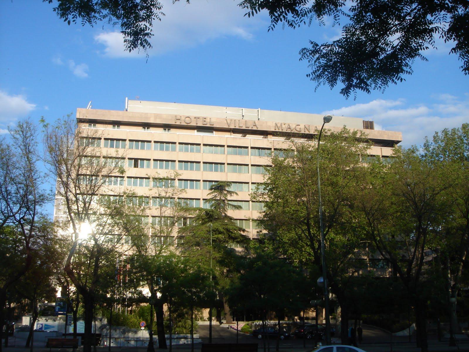 Historia y genealog a el palacio del duque de anglada - Hotel villamagna en madrid ...
