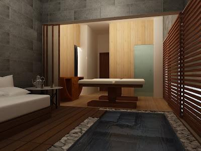 Colt12 sala de masajes - Decoracion zen spa ...