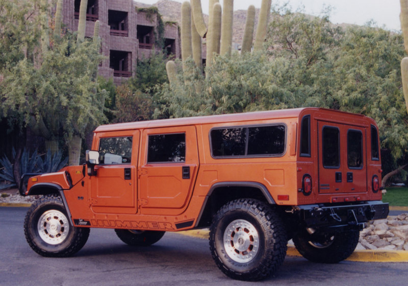2003 Hummer H2 Sut Dirt Sport Concept. The Hummer H1 is a civilian