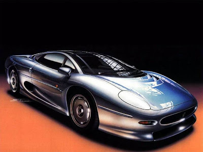 8)Jaguar XJ220= Jaguar XJ220 has top speed: 217-mph, it takes 3.80 second