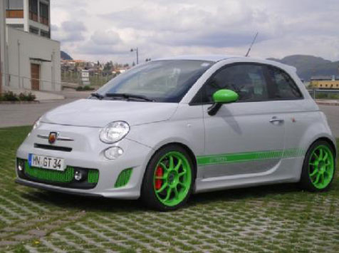 G-Tech Abarth Fiat 500 RS S