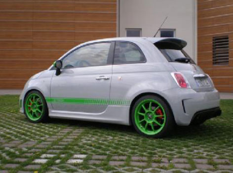 G-Tech Abarth FiatRS S 500 Body Kit