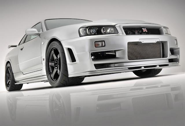 JAPO Nissan Skyline R34 GTR Tuning Car