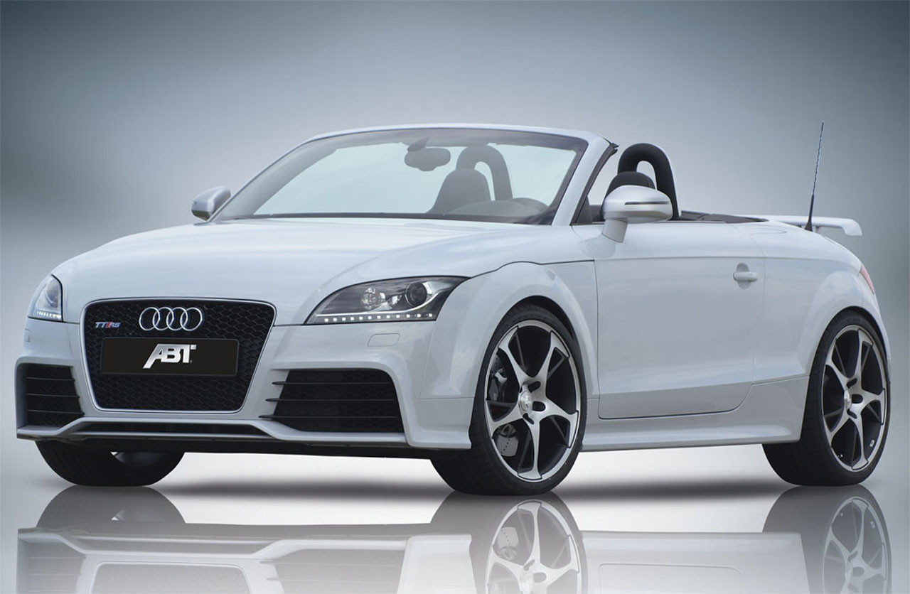 audi tt rs by abt sportsline compact coupe with powerful. Black Bedroom Furniture Sets. Home Design Ideas