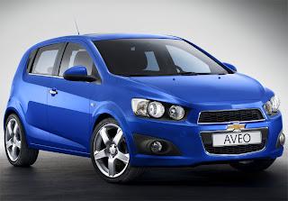 2012 Chevrolet Aveo 1