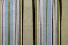 teal & brown stripe