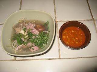 lamb shabu shabu