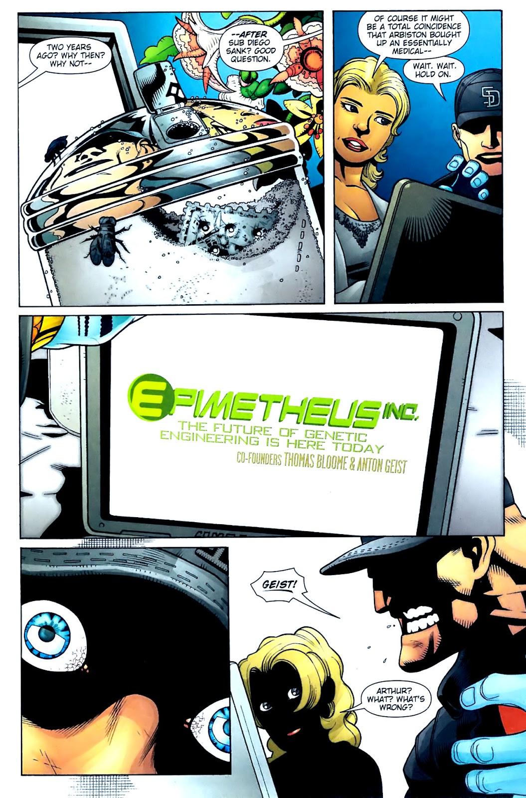 Aquaman (2003) Issue #32 #32 - English 8