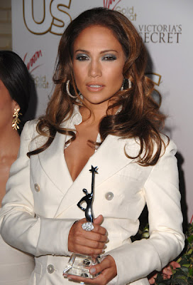 Jennifer Lopez win the Style Icon of the Year Award from US Weekly Magazine
