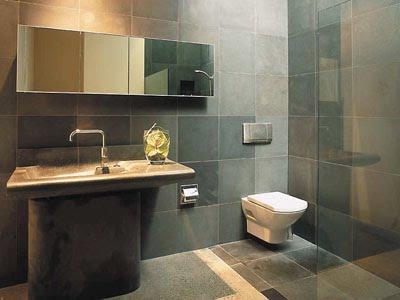 Ba os modernos tendencias en azulejos casa haus decoraci n for Banos bonitos y modernos