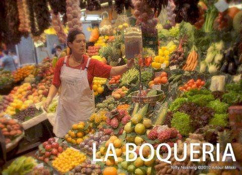 La Boqueria: Barcelona