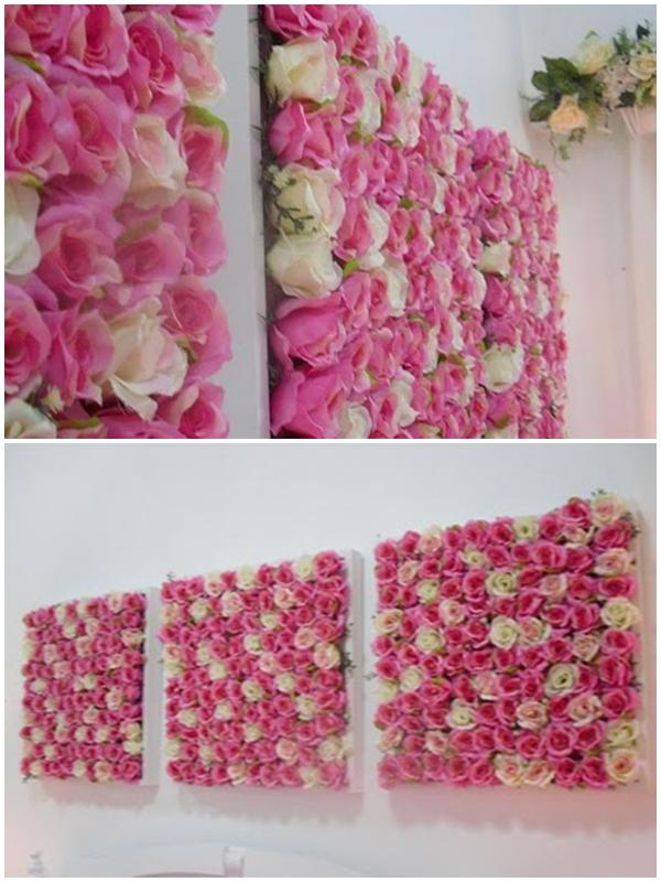 ♥ NAPHYRA ♥: DIY - Bloomy Flower Frame