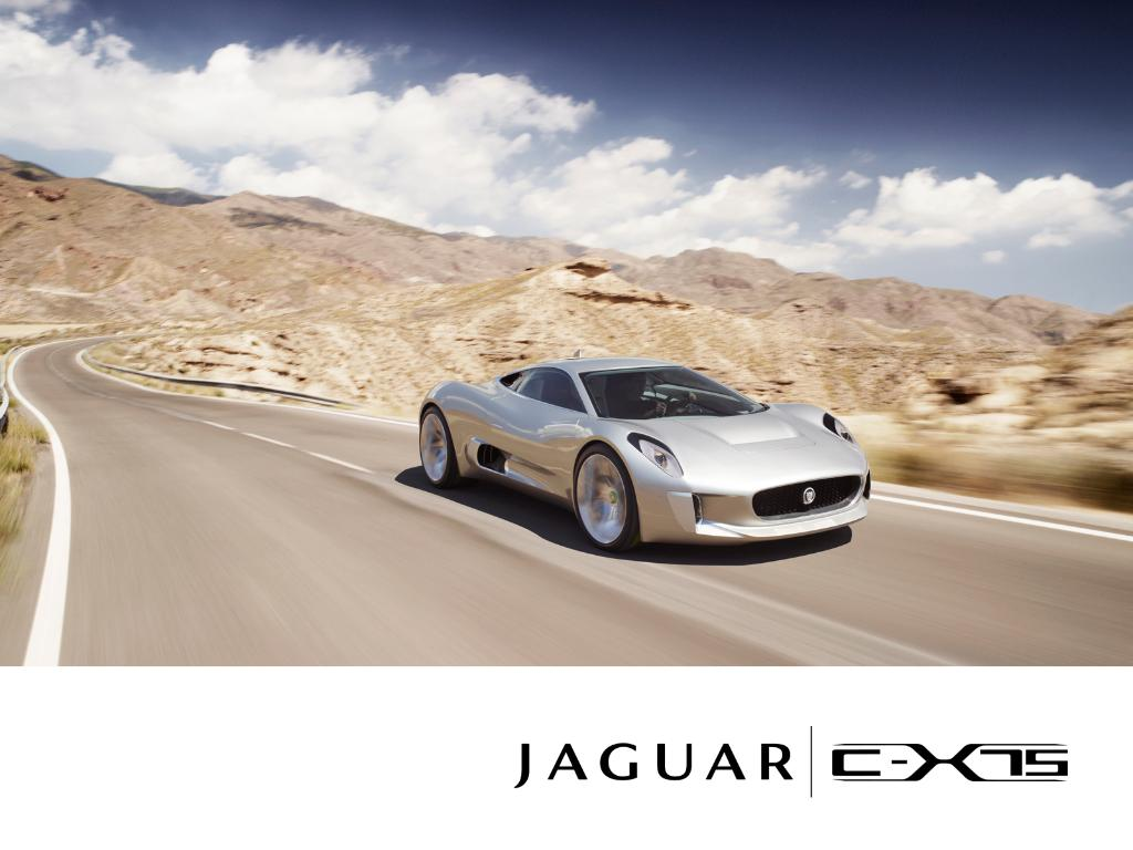 Jaguar CX   75