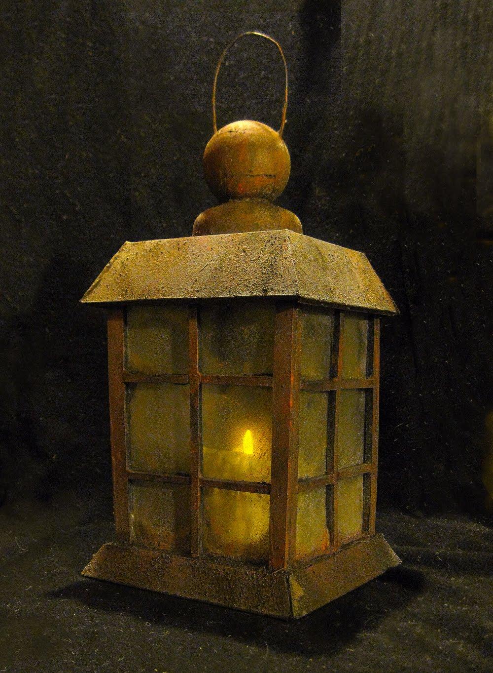 DAVE LOWE DESIGN the Blog: O'Treaty's Foamcore Lantern ...