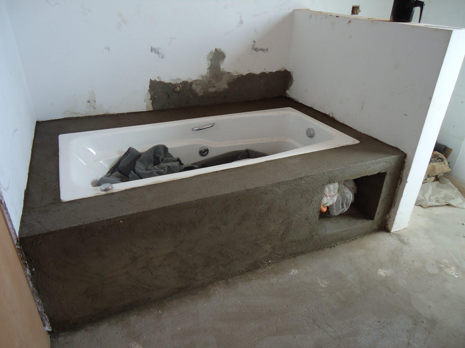alvenaria da banheira #38322A 1600x1200 Banheiro Com Banheira De Alvenaria