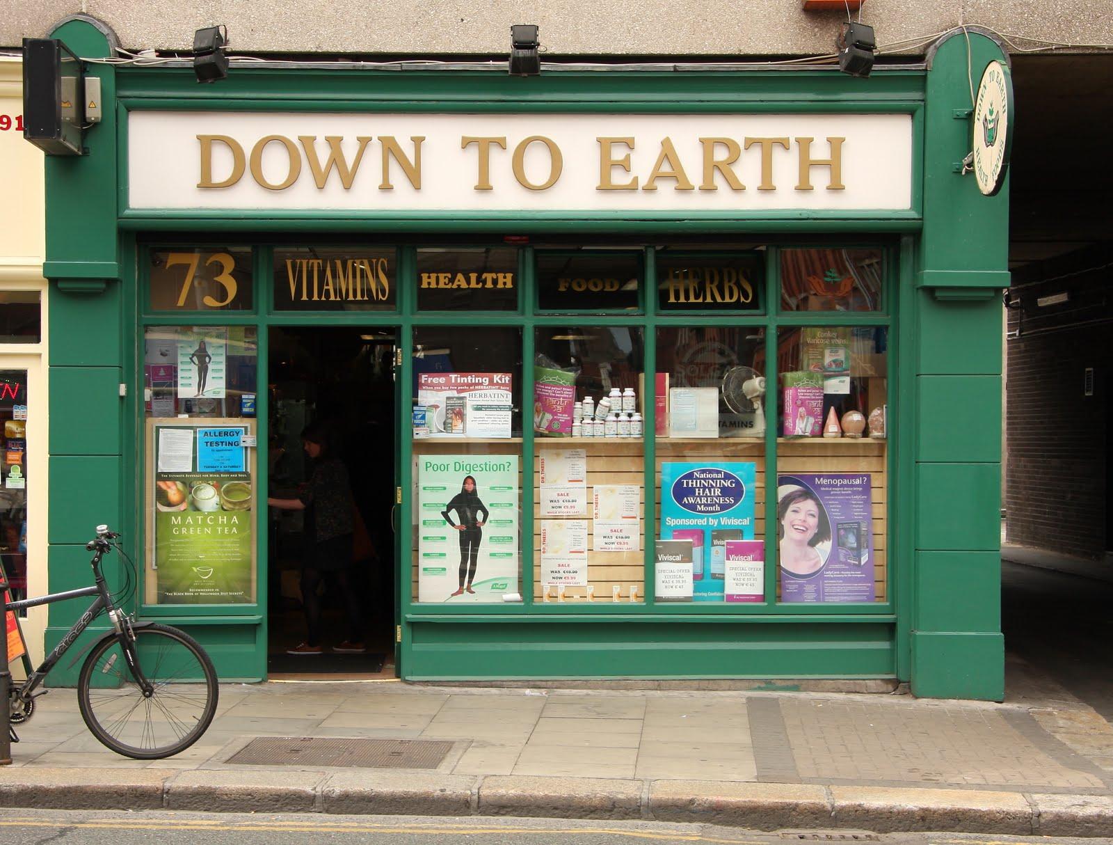 Health food shops south dublin