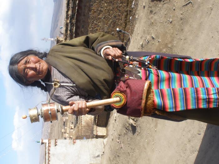 mujer tibetana, litang