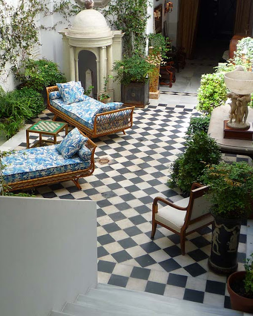 My Notting Hill A Spanish Courtyard Extraordinaire