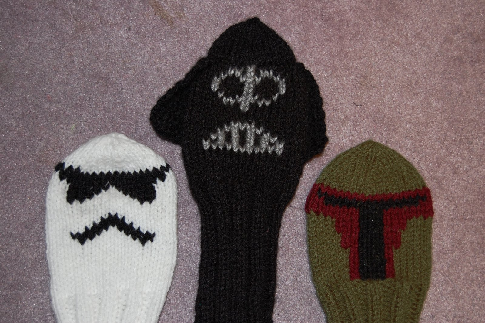 Katiedid Crafts: Darth Vader Golf Club Cover Pattern