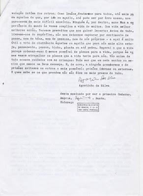 carta de Agostinho da Silva