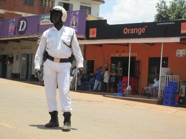 Uganda Traffic Police